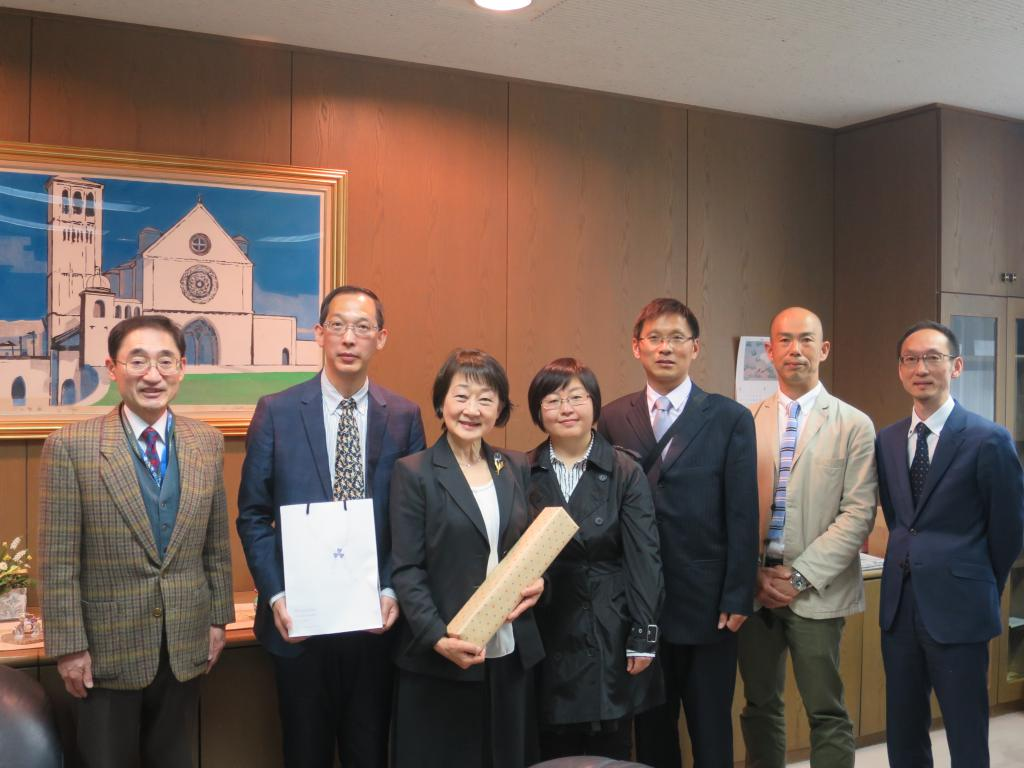 外国语学院代表团赴日本高校交流访问